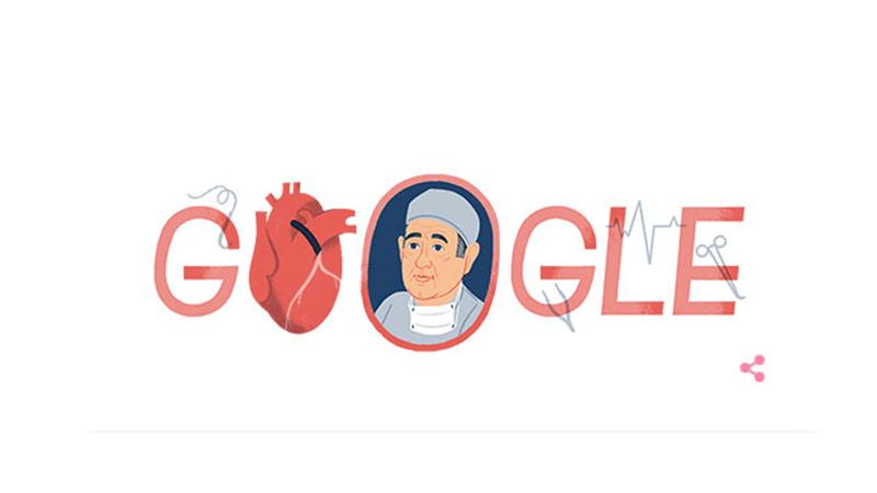 Τον Δρ. Rene Favaloro τιμά σήμερα η Google