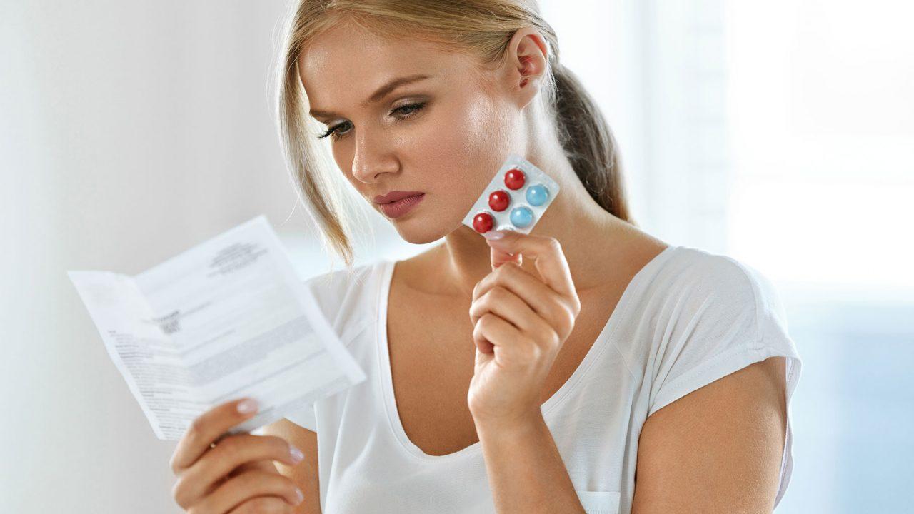 Το λάθος που γίνεται πάντα όταν οι γυναίκες παίρνουν φάρμακα