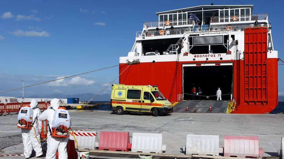 Κορωνοϊός: Στο Λαϊκό μεταφέρθηκαν οι δύο ναυτικοί του «Θεολόγος» – Σε καραντίνα το πλήρωμα