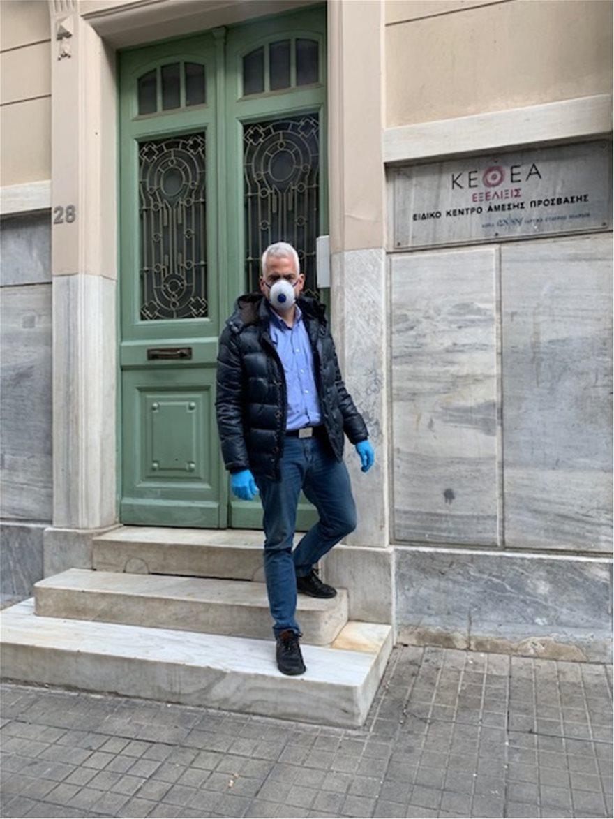 Κορωνοϊός – Πρόεδρος του ΚΕΘΕΑ: Δράσεις για την υποστήριξη των άστεγων χρηστών
