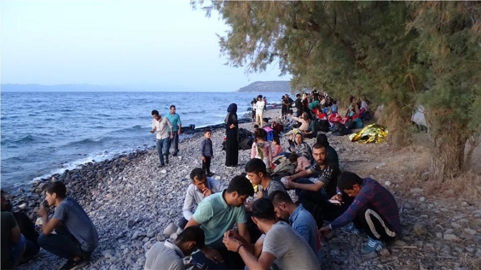 Μεταναστευτικό: Βάρκα με 39 μετανάστες στη Λέσβο – Οι επιβαίνοντες τέθηκαν σε καραντίνα 14 ημερών