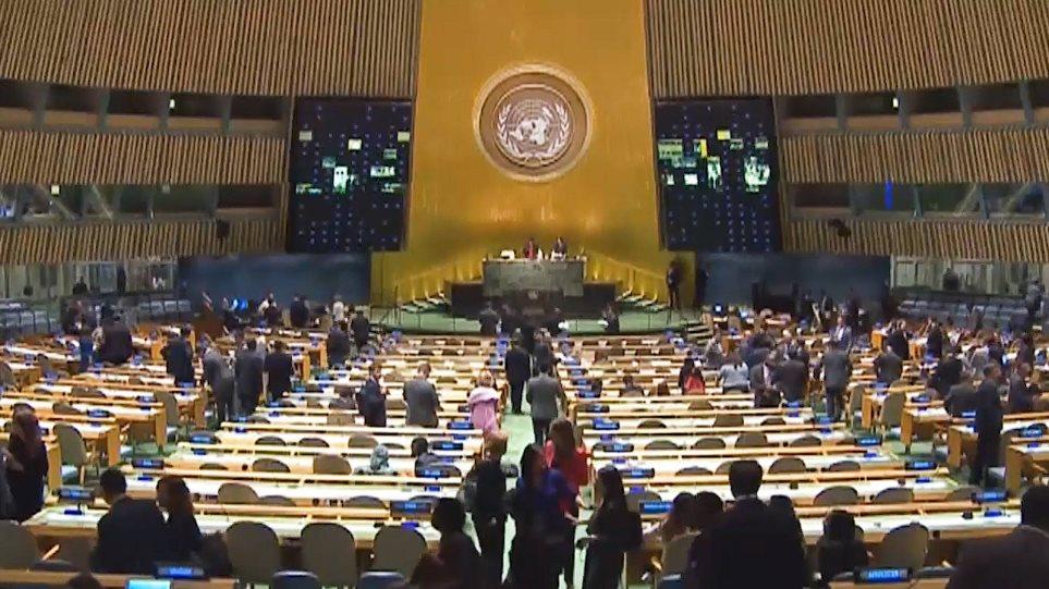 Κορωνοϊός – ΟΗΕ: Ψήφισμα για «διεθνή και πολυμερή συνεργασία» ενάντια στην πανδημία