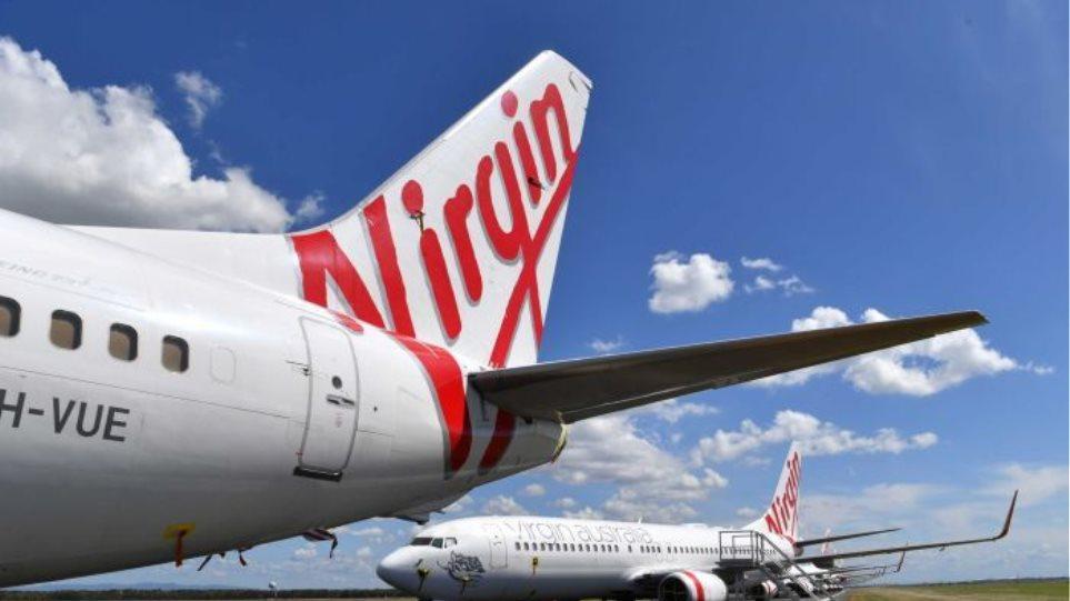 Κορωνοϊός: Στάση πληρωμών από την αεροπορική εταιρεία Virgin Australia