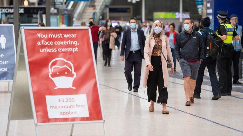 Κορωνοϊός: Αυξήθηκαν κατά 24.405 τα κρούσματα στη Βρετανία – 274 θάνατοι σε ένα 24ωρο