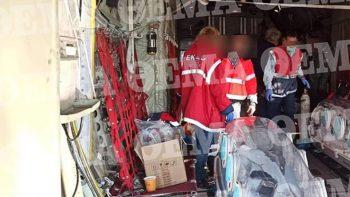 Κορωνοϊός – Πρώτη αεροδιακομιδή: Από λεπτό σε λεπτό η μεταφορά των τριών ασθενών στην Αθήνα