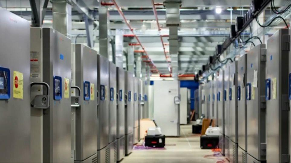 Κορωνοϊός: Στην Ελλάδα τα πρώτα επτά ψυγεία για το εμβόλιο των Pfizer / BionTech