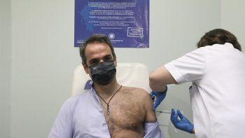 Μητσοτάκης για το εμβόλιο: Ανώδυνο, χωρίς την παραμικρή παρενέργεια – 80.000 συμπολίτες μας έχουν ήδη εμβολιαστεί