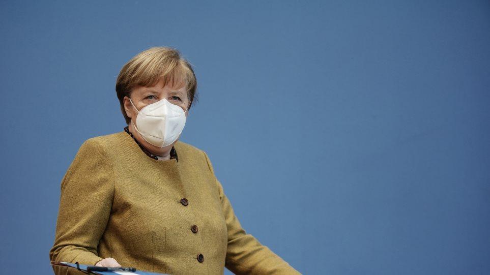 Μέρκελ: Πανδημία του αιώνα ο κορωνοϊός – Το «ευχαριστώ» στους πολίτες για την τήρηση των μέτρων