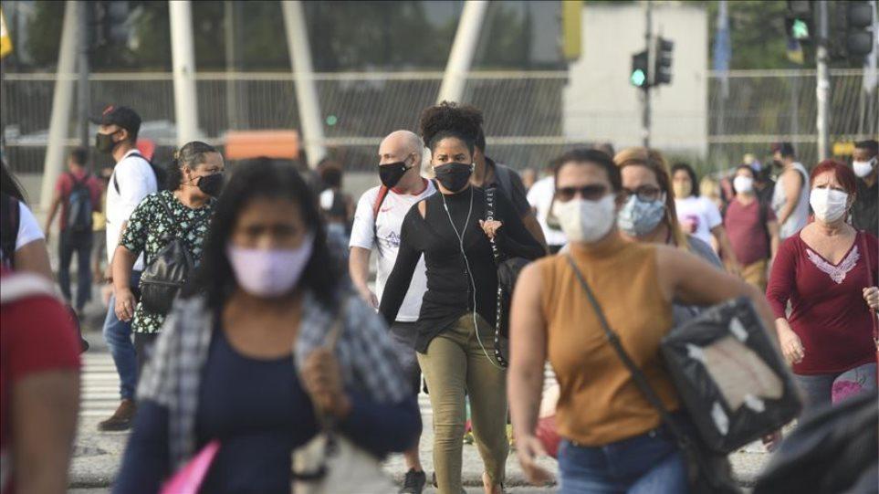 «Συναγερμός» από τη βραζιλιάνικη μετάλλαξη του κορωνοϊού – Πιο μεταδοτική, μολύνει και όσους έχουν νοσήσει
