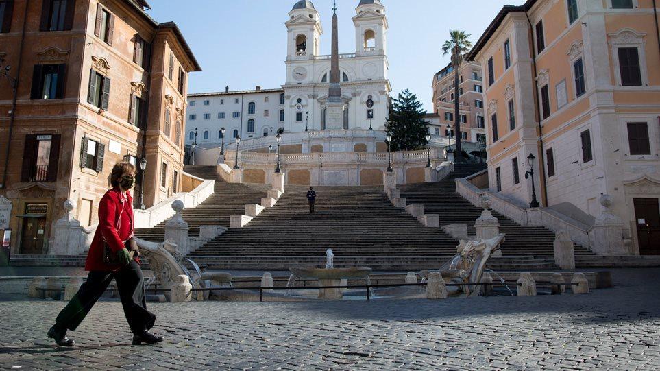 Σε «κόκκινη ζώνη» όλη η Ιταλία για το Πάσχα των Καθολικών