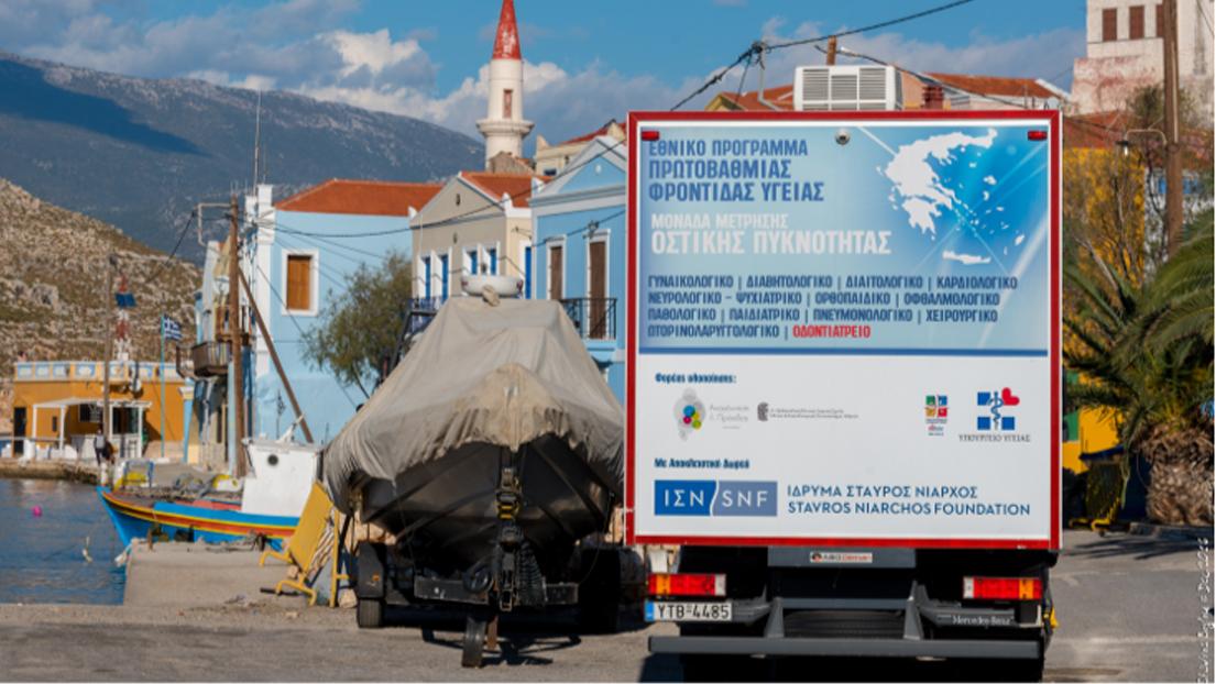 Καστελλόριζο: Δωρεάν εξετάσεις από τις Κινητές Ιατρικές Μονάδες