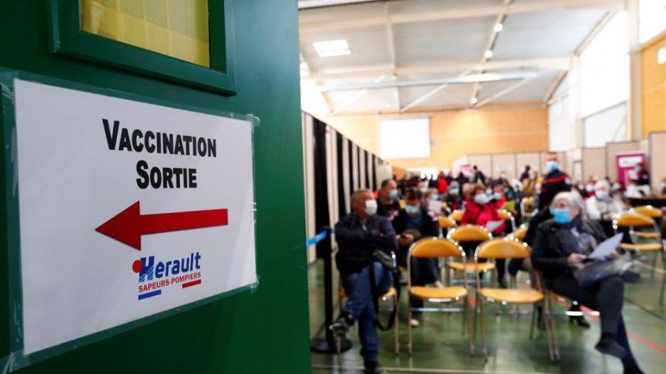 Κορωνοϊός: Η Γαλλία πέτυχε τον στόχο των 10 εκατομμυρίων δόσεων εμβολίου