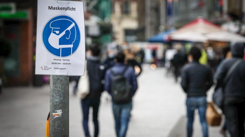 Κορωνοϊός – Γερμανία: Παράταση του lockdown για τρεις εβδομάδες συμφώνησαν τα κρατίδια