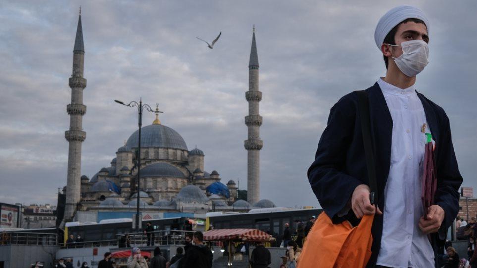 Κορωνοϊός – Τουρκία: Μερικό lockdown για δυο εβδομάδες ανακοίνωσε ο Ερντογάν