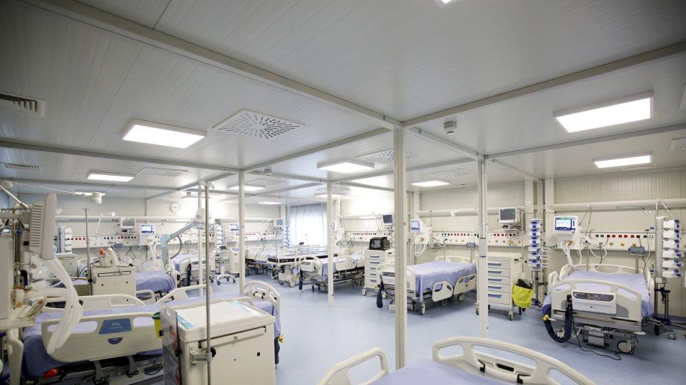 Κορωνοϊός: 18 κινητές κλίνες ΜΕΘ παρέδωσε η Επιτροπή «Ελλάδα 2021» στο Νοσοκομείο Παπανικολάου