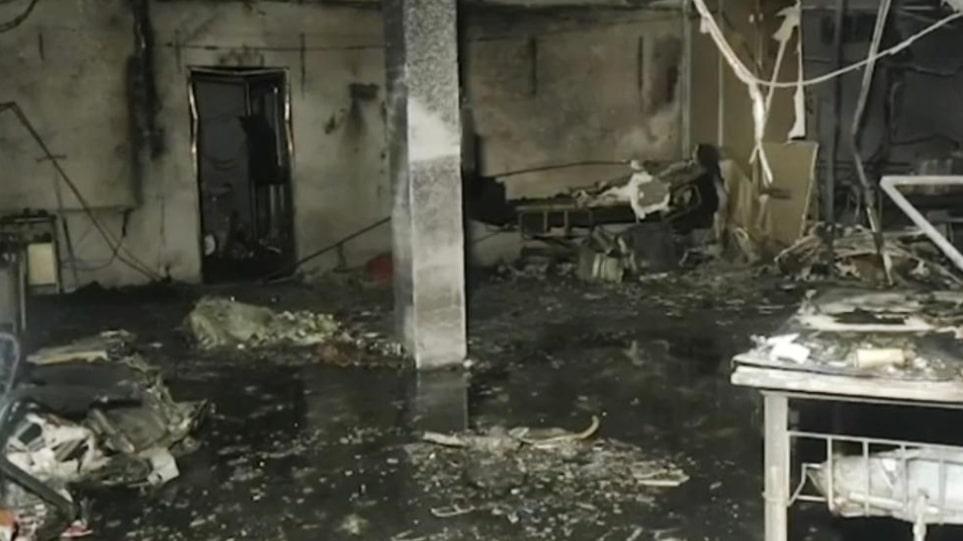 Ινδία: Κάηκαν ζωντανοί σε ΜΕΘ! – Εικόνες φρίκης σε νοσοκομείο