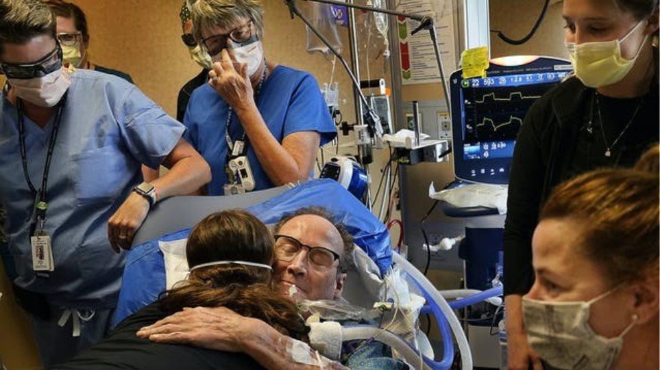 Μινεσότα: Το μηχάνημα που έσωσε 58χρονο, διασωληνωμένο επί 81 ημέρες στην εντατική