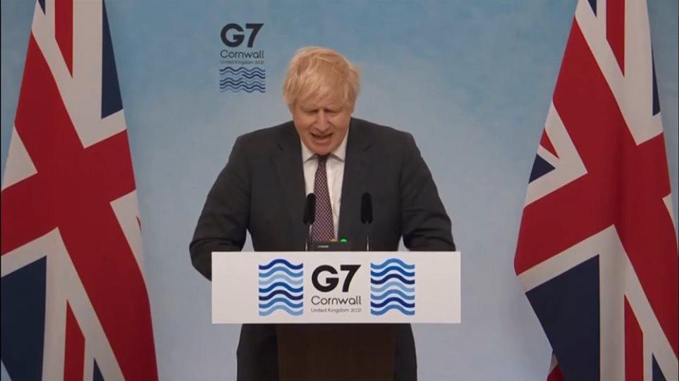 Τζόνσον: Η G7 αποφάσισε να δώσει 1 δισεκατομμύριο εμβόλια στις φτωχότερες χώρες