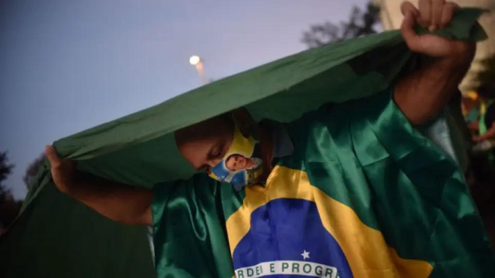 Πανδημία-Βραζιλία: 648 θάνατοι και πάνω από 24.600 κρούσματα σε 24 ώρες